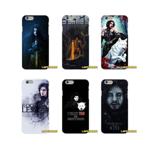 Winter Game of Thrones GOT Jon Snow  St Silicone phone Case For Sony Xperia Z Z1 Z2 Z3 Z4 Z5 compact M2 M4 M5 E3 T3 XA Aqua AT_77_7