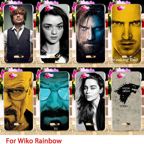 Winter Game of Thrones GOT TAOYUNXI St TPU Phone Cases For Wiko rainbow Explay Fresh 5.0 inch s  Paul Hard Back Covers Skins Shields Bag Hoods AT_77_7