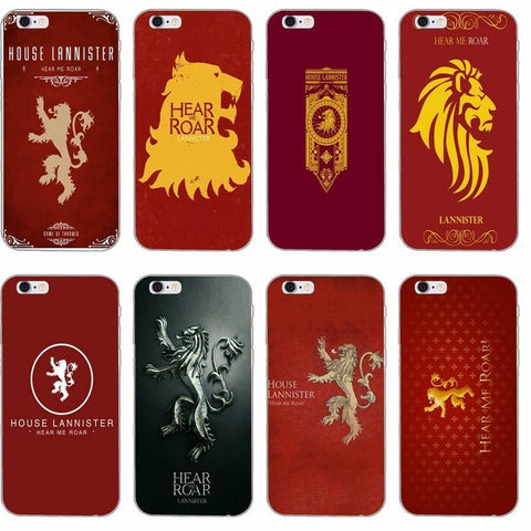 Winter Game of Thrones GOT  lannister silicone TPU St phone case For Huawei Honor 4c 5c 5x 6x v8 Mate 7 8 9 P7 P8 P9 P10 Lite plus 2017 AT_77_7