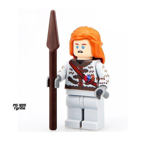 Winter Game of Thrones GOT Single Sale  superhero marvel  Ygritte building blocks model bricks toys for children brinquedos menino AT_77_7