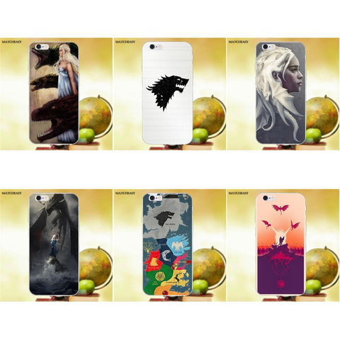 Winter Game of Thrones GOT Matcheasy s  s Got St TPU Cell Phone Cover Case For Apple iPhone 4 4S 5 5C SE 6 6S 7 8 Plus X AT_77_7