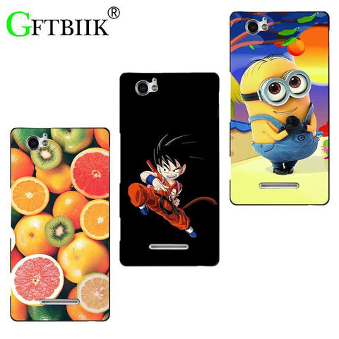 Winter Game of Thrones GOT Super Cartoon Pattern Cover For Sony Xperia M Dual C1905 C1904 C2004 C2005 Case Despicable Me 2 Paint Animal  Shell Coque AT_77_7