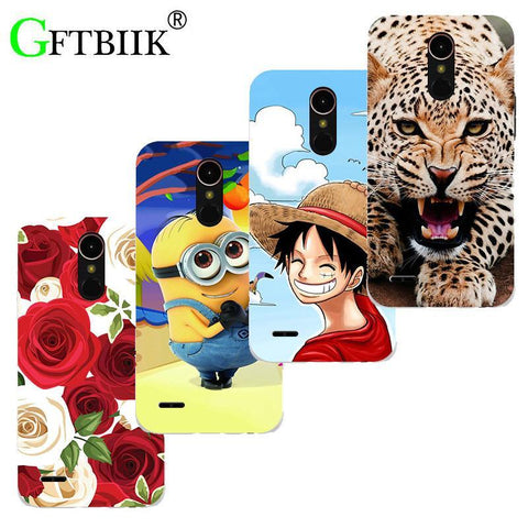 Winter Game of Thrones GOT Super Cartoon Pattern Cover For LG LV3 / LG Aristo M210/LG K8 2017 Case Despicable Me 2 Painted Animal  Shell Coque AT_77_7