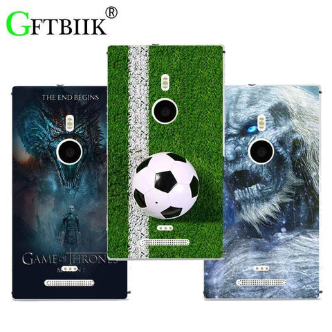 Winter Game of Thrones GOT For Nokia Lumia 925 Case Hard Plastic Pattern Colored Cases Fashion Printing Phone Bag Flower Shell New  7 AT_77_7