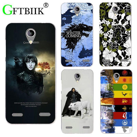 "Winter Game of Thrones GOT For  7 Case For ZTE  A520 A 520 BA520 5.0"" Cover UV Printing St Silicone Phone Back Shell Football Cases AT_77_7"