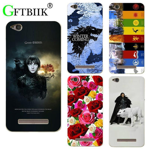 "Winter Game of Thrones GOT For  7 Case For Xiaomi Redmi 4A 5.0"" Cover Hard Plastic Printed Phone Back Shell Football Case AT_77_7"
