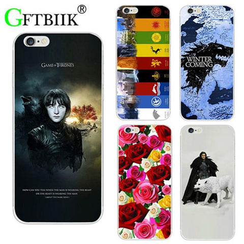 "Winter Game of Thrones GOT For  7 Case For Asus Zenfone 4 Max ZC520KL 5.2"" Cover St Silicone Printed Phone Back Shell Football Case AT_77_7"