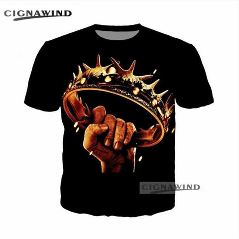 Winter Game of Thrones GOT New Arrival funny t shirts Design  3D Print men/women t-shirt Hip hop streetwear Summer tops Harajuku men t shirt AT_77_7