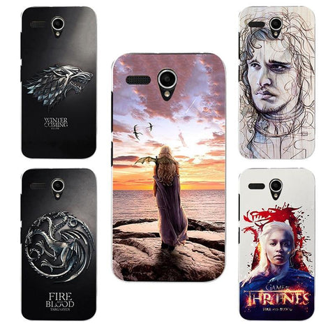 Winter Game of Thrones GOT for  Daenerys Drogon Jon Snow tyrion lannister st silicone Phone cover Case Fundas Case for Lenovo A606 A 606 AT_77_7