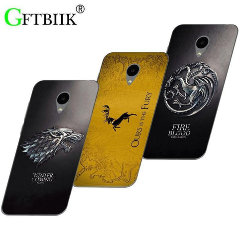 Winter Game of Thrones GOT Cute Cartoon Case For Alcatel U5 3G 4047D 4047  U5 HD 5047D 5047 5047Y U 5 U5 4G 5044D 5044 Cover 7 New AT_77_7