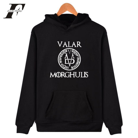 Winter Game of Thrones GOT LUCKYFRIDAYF  Cap Hoodies 2017 Fashion Men/Women Clothes Hooded Sweatshirts Unisex Kpop Hoodies For Plus Size 4XL AT_77_7
