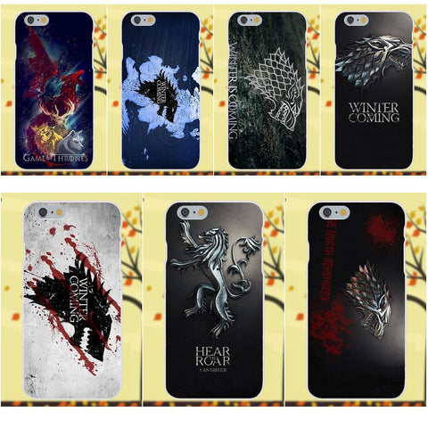 Winter Game of Thrones GOT 2017    Winter Is Coming St For Apple iPhone 4 4S 5 5C SE 6 6S 7 8 Plus X Galaxy Grand Core II Prime Alpha AT_77_7