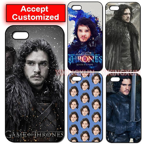 Winter Game of Thrones GOT Jon Snow    Case Cover for iPhone 5 5S SE 6 6S 7 8 Plus X XS Max XR Samsung Galaxy Note 8 9 S6 S7 S8 S9 Edge Plus AT_77_7