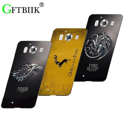 "Winter Game of Thrones GOT Cute Cartoon Case For Nokia Microst Lumia 950 Dual Sim 5.2"" Printing image Cover Hard Plastic Fashion Cover  7 AT_77_7"
