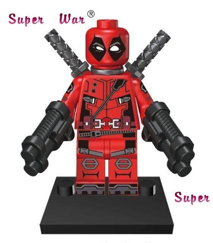 Star Wars Force Episode 1 2 3 4 5 20pcs  superhero marvel Deadpool Mutants Collection building blocks figure bricks  model educational diy baby toys AT_72_6