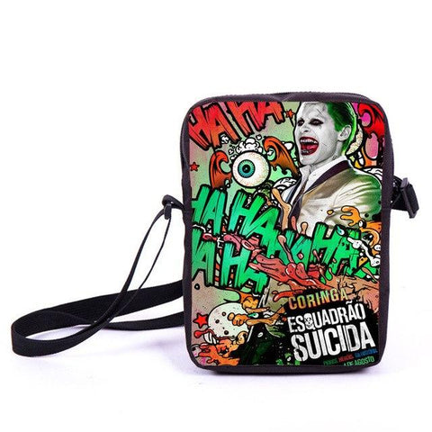 Harley Quinn Christmas.Batman Dark Knight Gift Christmas Suicide Squad Harley Quinn Joker Mini Messenger Bag Heros Dick Grayson Batman Superman Cross Bags Women