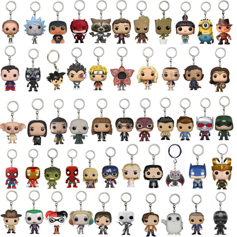 Dragon ball Dragonball capsule  Naruto Doctor Who 10th/11th12th Dr.Strange Stranger Things Freddy Krueger Jack Action Figure Anime Gift Toy Keychain AT_85_9