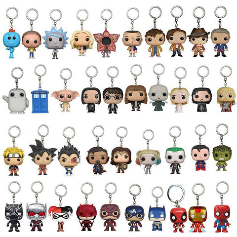 Dr. Who Doctor Who DRAGON BALL Naruto   10th/11th12th Dr.Strange Stranger Action Figure Anime Gift Toy Keychain mini cute DecorationsDon't blink AT_79_7