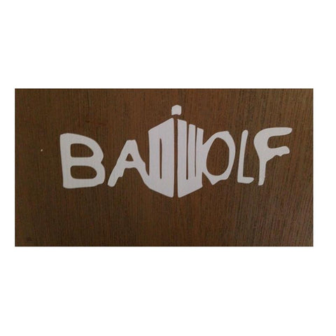Dr. Who Doctor Who Bad Wolf Tardis Dr  Rare Vinyl window car Laptop sticker decal funny JDMDon't blink AT_79_7