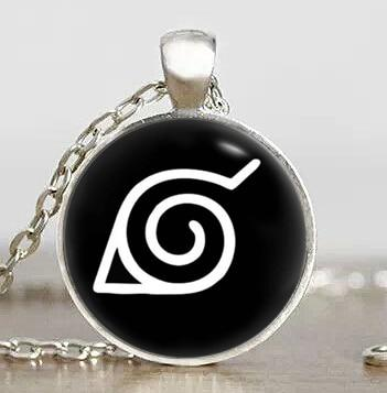 Dr. Who Doctor Who Animax Drama Naruto Konoha leaf village symbol Steampunk Pendant new pig girl Necklace charm chain 1pcs/lot men dr  fashionDon't blink AT_79_7