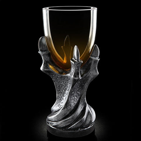 "1 pc 3D Game of Thrones Mug ""A Song Of Ice And Fire"" Skull Dragon Claw Cup Dragon Glass Shot Cup Beer Glass Cup Dragon Claw Mug"
