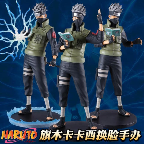 Naruto Sasauke ninja  Kakashi Hatake Action Figure 1/6 scale painted figure Sharingan Ver. Kakashi Doll PVC figure Toy Brinquedos Anime AT_81_8