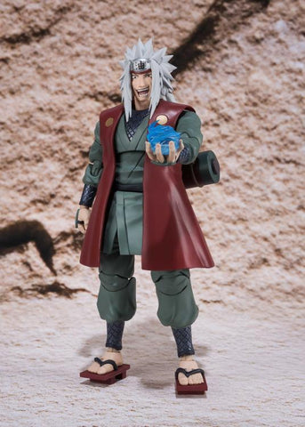 Naruto Sasauke ninja Anime S.H.Figuarts  Jiraiya Teacher of   PVC Action Figure Collection Model Kids Toy Doll AT_81_8