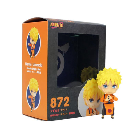 Naruto Sasauke ninja 9cm  Shippuden Action Figure Nendoroid 872 Uzumaki  Anime Model Toy Gift for Kids AT_81_8