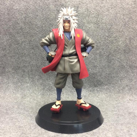 Naruto Sasauke ninja Anime 18CM  Shippuden Jiraiya PVC Statue Figure Collectible Model Toy Gift AT_81_8