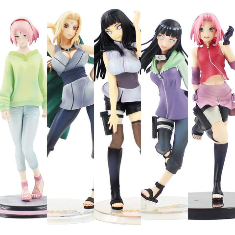 Naruto Sasauke ninja 21cm  Tsunade Anime Action Figure PVC New Collection figures toys Collection for Christmas gift AT_81_8