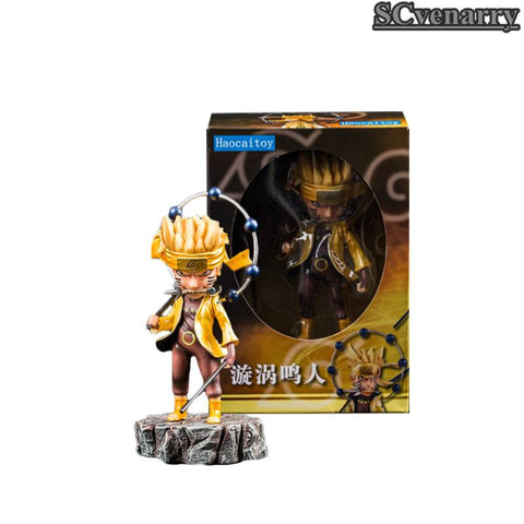 Naruto Sasauke ninja  Anime Uzumaki Six Path Action Figure Model Toys 16cm AT_81_8