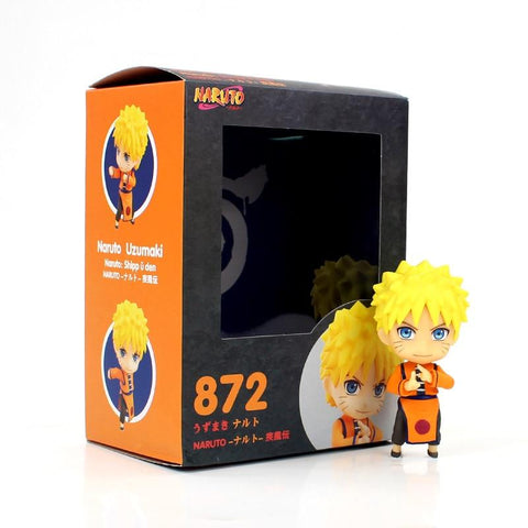 Naruto Sasauke ninja 9cm Anime  Shippuden Uzumaki  872 PVC Action Figure Model Collectible Kids Toy Doll AT_81_8