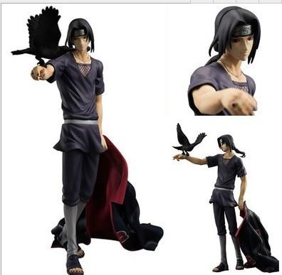 Naruto Sasauke ninja  Shippuden Uchiha Itachi PVC Action Figure Collectible Model Toy Doll 27cm AT_81_8