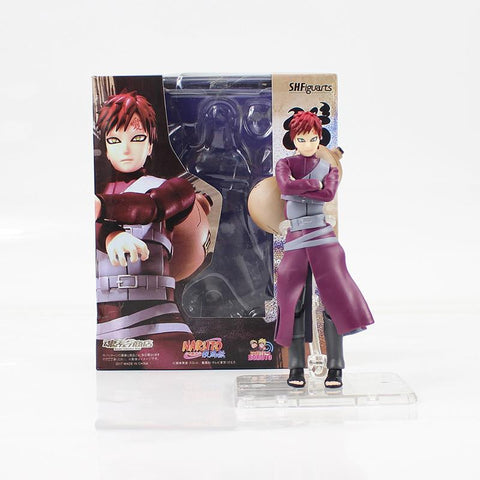 Naruto Sasauke ninja 15cm Anime  Gaara Figure Toys SHFiguarts  Shippuden Gaara PVC Action Figure Model Toys With Box For Gifts AT_81_8