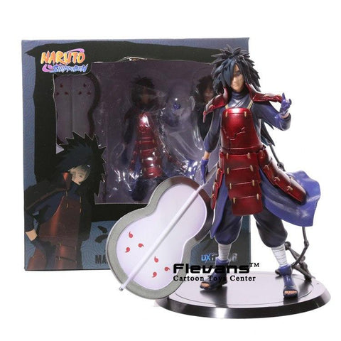Naruto Sasauke ninja  Shippuden Uchiha Madara PVC Action Figure Collectible Model Toy 17cm AT_81_8