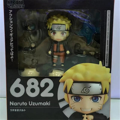 Naruto Sasauke ninja 1pc/lot Movable Joint Change Face  Anime Figures Office/Home Decoration Model Figures Toys With Box 14cm AT_81_8