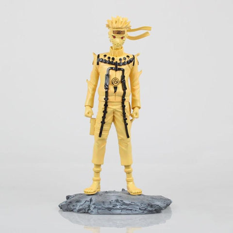 Naruto Sasauke ninja  Uzumaki  kyuubi Action Figures Toys Japan Anime  Figure Collection PVC Model Toy for Present  24cm N137 AT_81_8