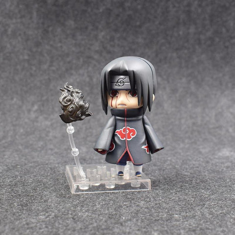 Naruto Sasauke ninja 4'' New Arrival Anime  820# Uchiha Itachi Q Version PVC Model Collection Cute Decoration Kids Toy Action Figure Doll 10cm AT_81_8