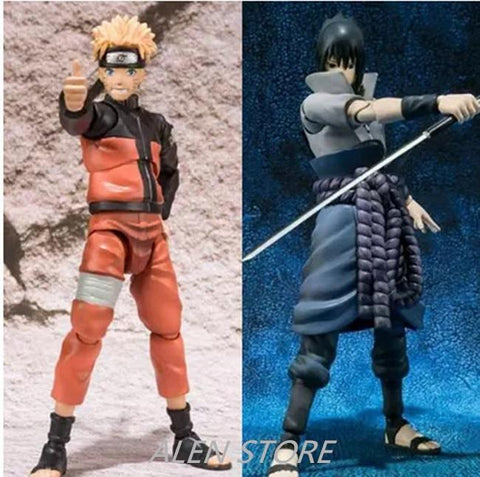 Naruto Sasauke ninja 14cm  Figure SHF Figuarts Sasuke  Collectible Action Figures Toys S.H Figuarts Susuke Figurine Collection Gift Toys AT_81_8