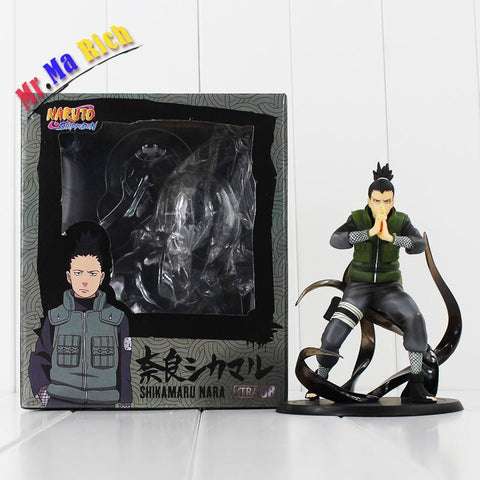 Naruto Sasauke ninja 14.5cm  Shikamaru Nara Pvc Figure Toys Action Model Dolls Children Gifts AT_81_8