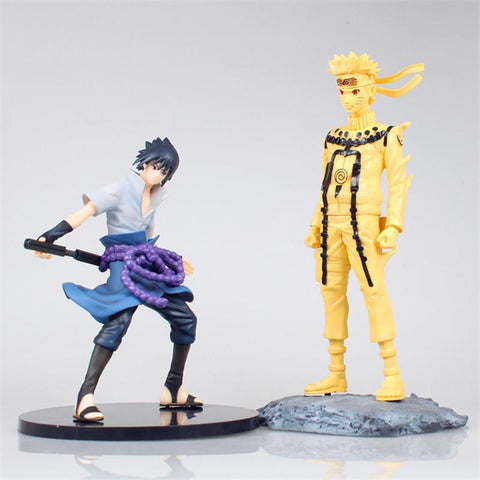 Naruto Sasauke ninja WVW 25.5CM Hot Sale Anime Heroes  Uzumaki  Model PVC Toy Action Figure Decoration For Collection Gift   AT_81_8