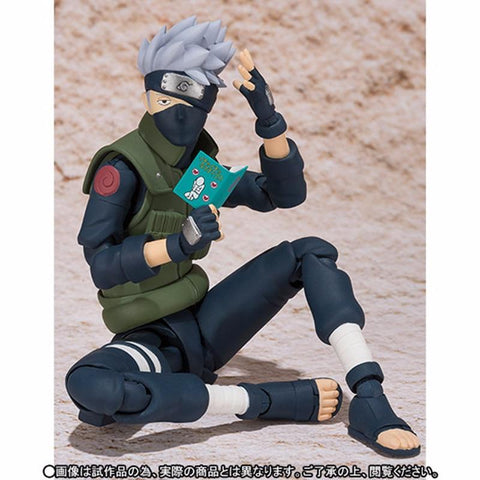 Naruto Sasauke ninja QICSYXJ Birthday Gift  Action Collection 14cm SHF Kakashi Model S Ninjutsu Chiddley Hatake Kakashi Movable Toy Figure AT_81_8