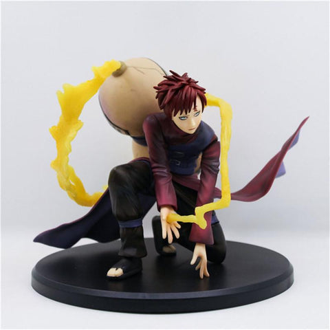 Naruto Sasauke ninja WVW 15CM Hot Sale Anime Heroes  Gaara Model PVC Toy Action Figure Decoration For Collection Gift   AT_81_8
