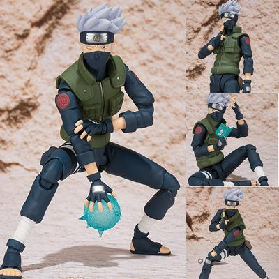 Naruto Sasauke ninja 15cm Anime  Sasuke Hatake Kakashi Collection Action Figure Toys AT_81_8