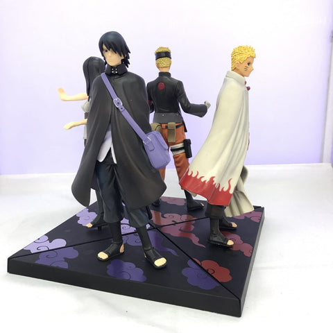 Naruto Sasauke ninja WVW 2pcs/Set Anime Heroes  Itachi Sasuke Gaara Uzumaki  Model PVC Toy Action Figure Decoration For Collection Gift AT_81_8