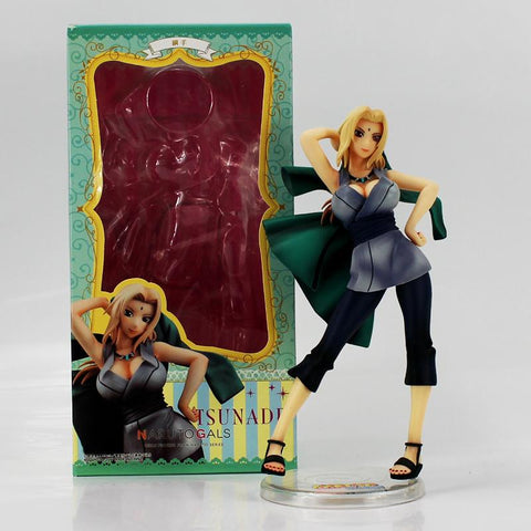 Naruto Sasauke ninja 21cm Hot Japanese Anime  Shippuden Tsunade Action Figure  GALS Tsunade Model Doll Toys For Collection Kids Gifts AT_81_8