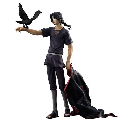 Naruto Sasauke ninja  Shippuden Uchiha Itachi PVC Action Figure Collectible Model Toy Doll 27cm KT1322 AT_81_8