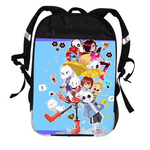 Undertale Sans Papyrus  Printing Backpack Animal Sans Mabel Women Men Casual Boys Girls School Bags Hip Hop Male Laptop mochila Kpop Bagpack AT_82_8