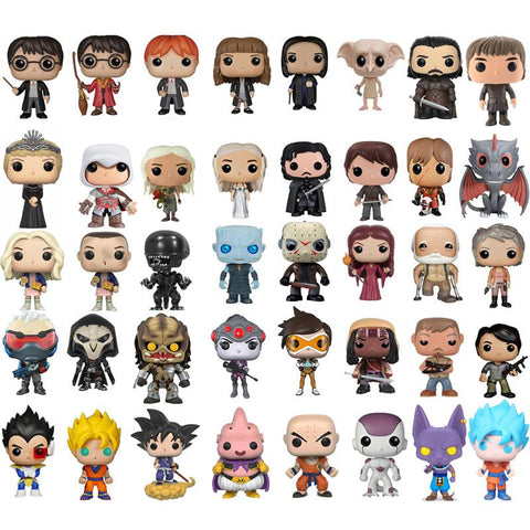 Dragon ball Dragonball capsule Funko POP Harry potter Game of Thrones  Walking Dead brinquedos Collection Action Figure toys for children no box AT_85_9
