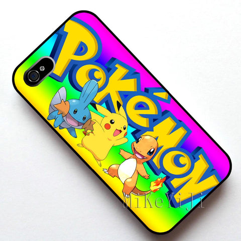 #12053  Pikachu Case Cover, Case  for Apple Iphone 4s 5 5s SE 5c 6 6s 6plus 6s plusKawaii Pokemon go  AT_89_9